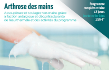Arthrose des mains